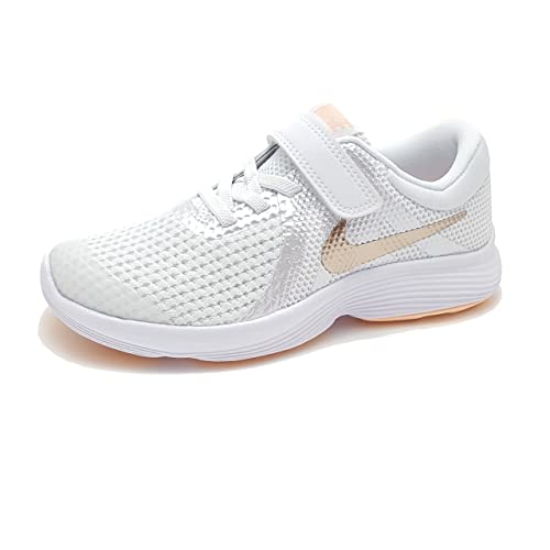 Nike Niña Revolution 4 Color Blanco T28.5: Amazon.es: Zapatos y complementos