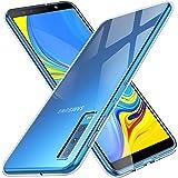 Samsung Galaxy A7 2018 Hülle, KuGi Soft TPU Case Ultradünn Cover [Slim-Fit] [Anti-Scratch] [Shock Absorption] für for Samsung SM-A750FZBUDBT Galaxy A7 2018 15,36 (6 Zoll) smartphone. Klar