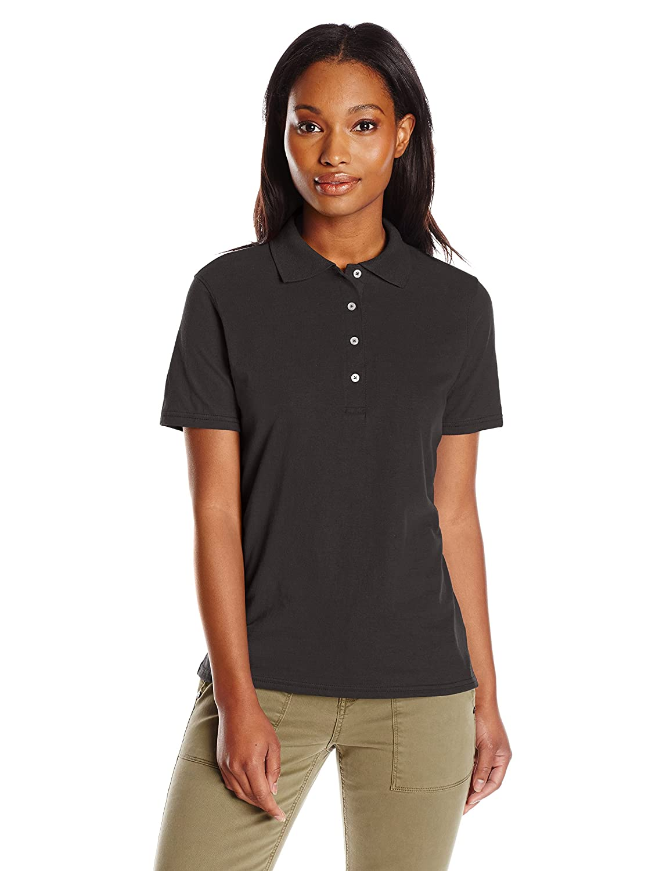 17e0384f9 Hanes Women s X-Temp Performance Polo Shirt at Amazon Women s Clothing  store