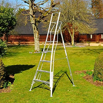 Henchman Aio480 3 Adjustable Leg Tripod Ladder Amazon Co Uk Diy Tools