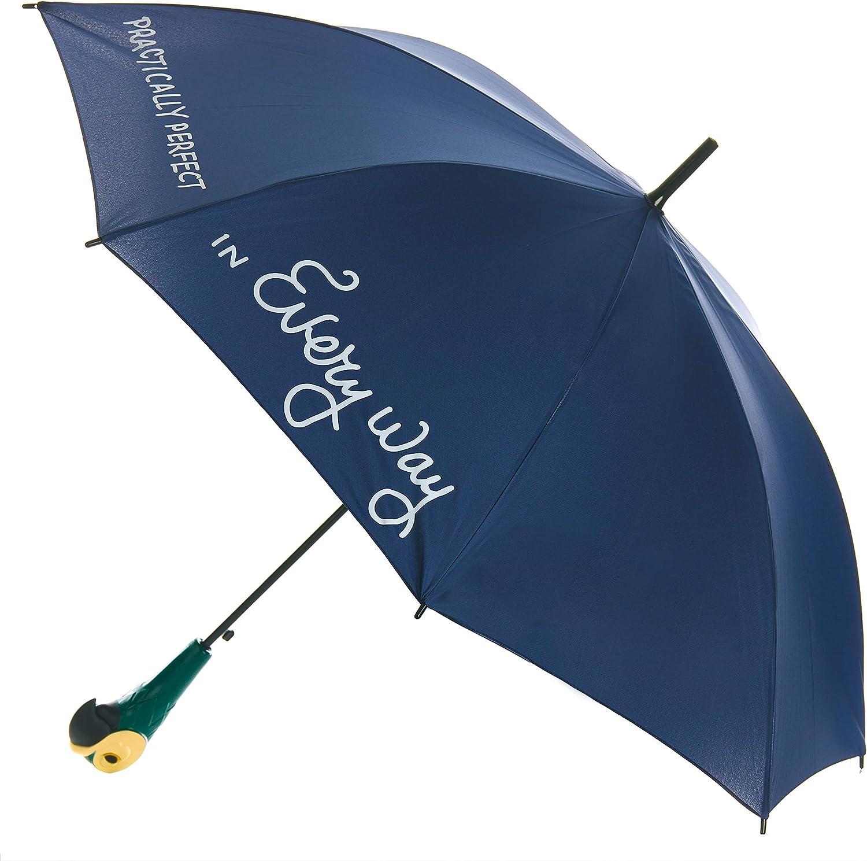 Mary Poppins 2019 Paraguas clásico, 95 cm, Azul Oscuro