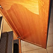 Cabinet Door Bumper Pads, Sheet of 220 (Brown) - Cabinet ...