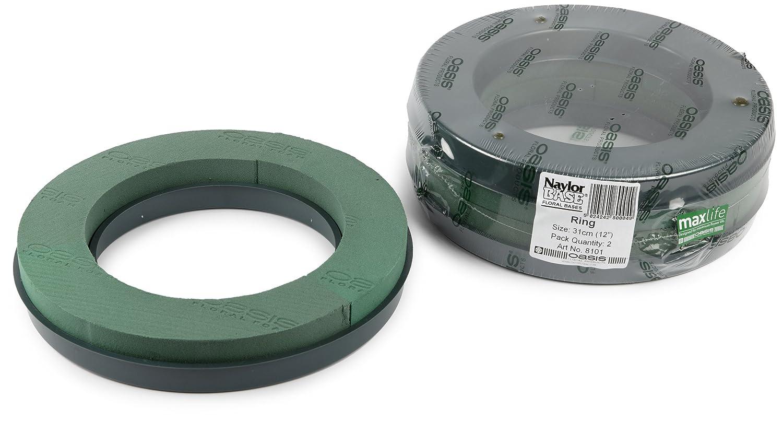 OASIS–Base in plastica schiuma floreale anello 31cm (30, 5cm) Smithers Oasis 8101