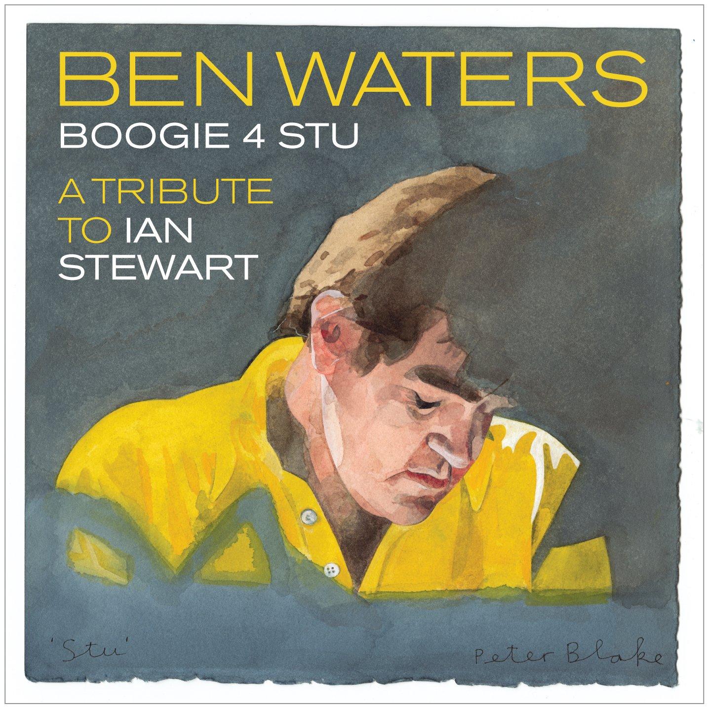 CD : Ben Waters - Boogie 4 Stu (CD)