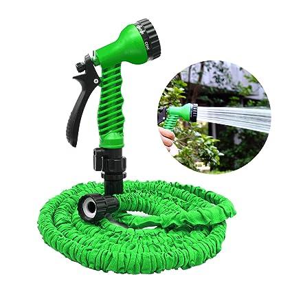 Amazon.com: Manguera de jardín, flexible, expandible ...