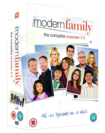 f3e917bab Modern Family - Season 1-5  DVD   2009   Amazon.co.uk  Ed O Neill ...