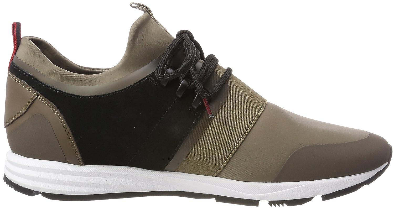 Hugo Hybrid_Runn_mxsc1, Sneaker Infilare Uomo, Beige (Beige/Khaki 250), 45 EU