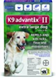 Bayer K9 Advantix II, Flea And Tick Control Treatment for Dogs