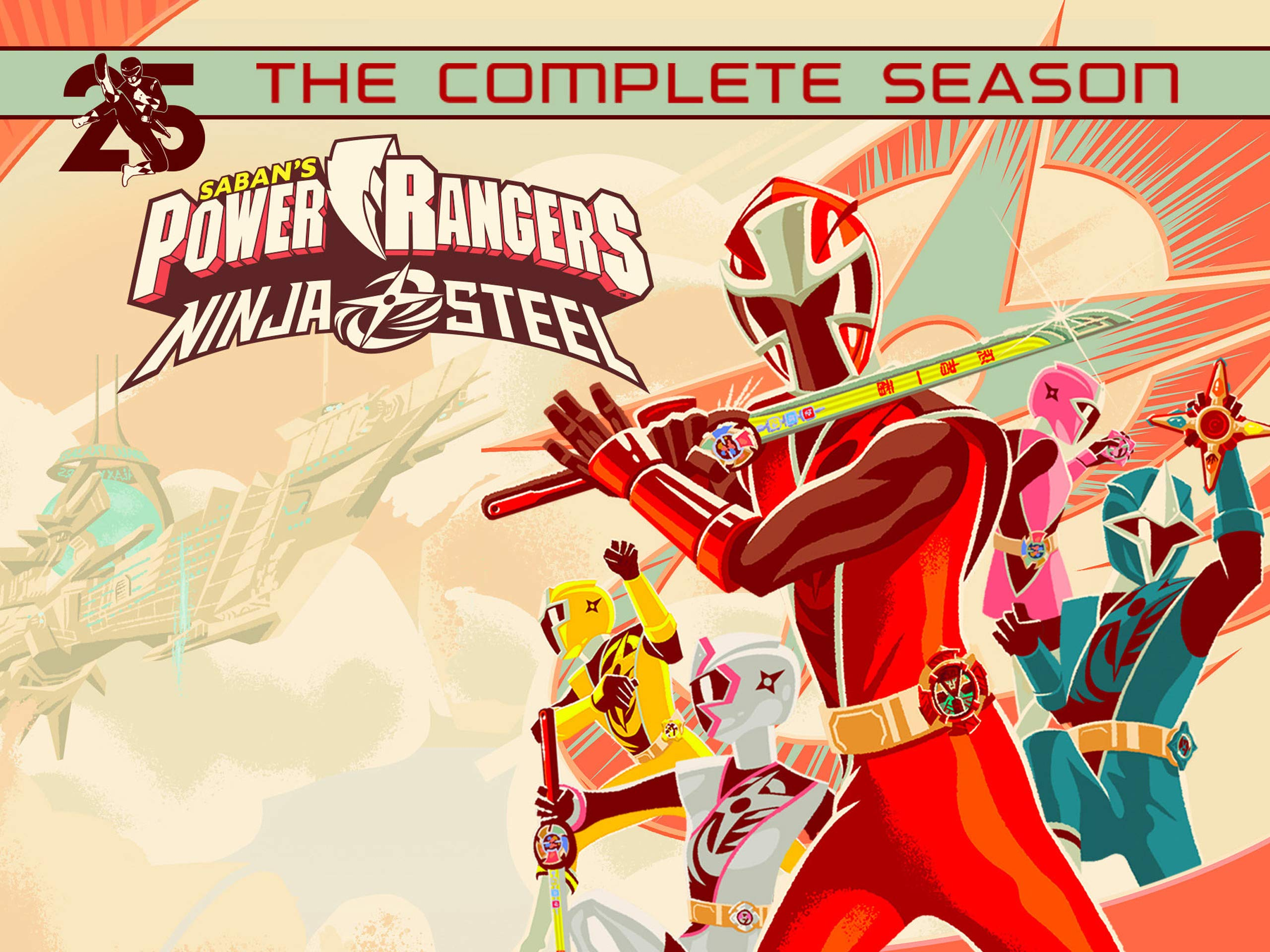 Amazon.com: Power Rangers Ninja Steel: The Complete Season