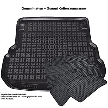 Gummifußmatten passgenau Fußmatten TOP Qualität KIA OPTIMA ab 2016