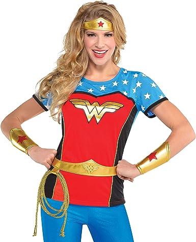 SUIT YOURSELF Accesorio para Disfraz de Wonder Woman para Adultos ...