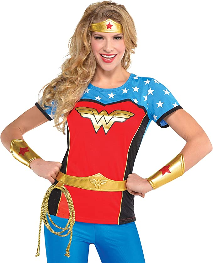 SUIT YOURSELF Accesorio para Disfraz de Wonder Woman para Adultos ...