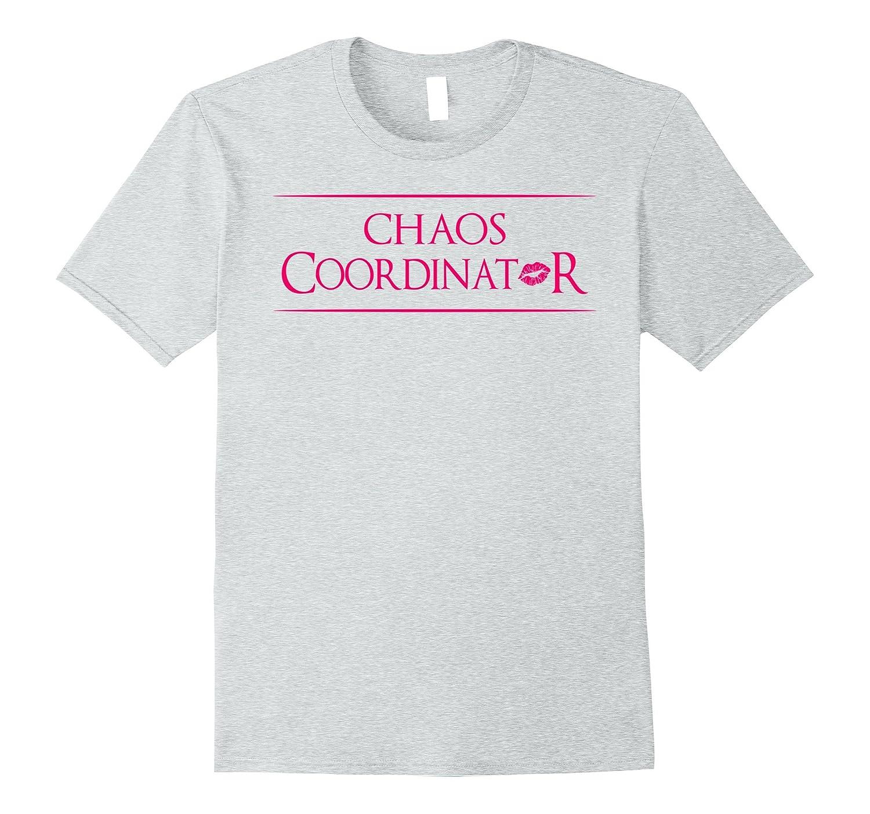 Chaos Coordinator T-Shirt Women Pink Kiss-CL