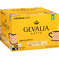 Deals on Gevalia Signature Blend Keurig K Cup Coffee Pods 100 Count