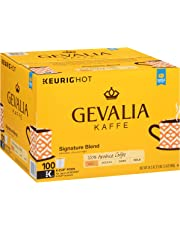 Gevalia Signature Blend Keurig K Cup Coffee Pods, 100 Count