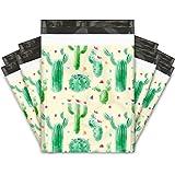 10x13 (100) Cactus Designer Poly Mailers Shipping Envelopes Premium Printed Bags