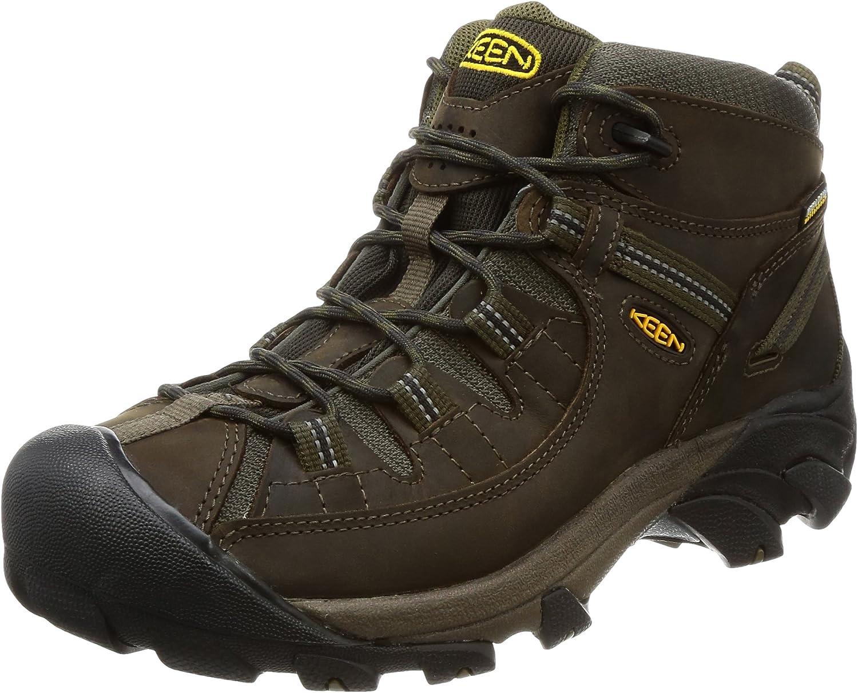 KEEN Men's Targhee 2 Mid Height Waterproof Hiking Boot