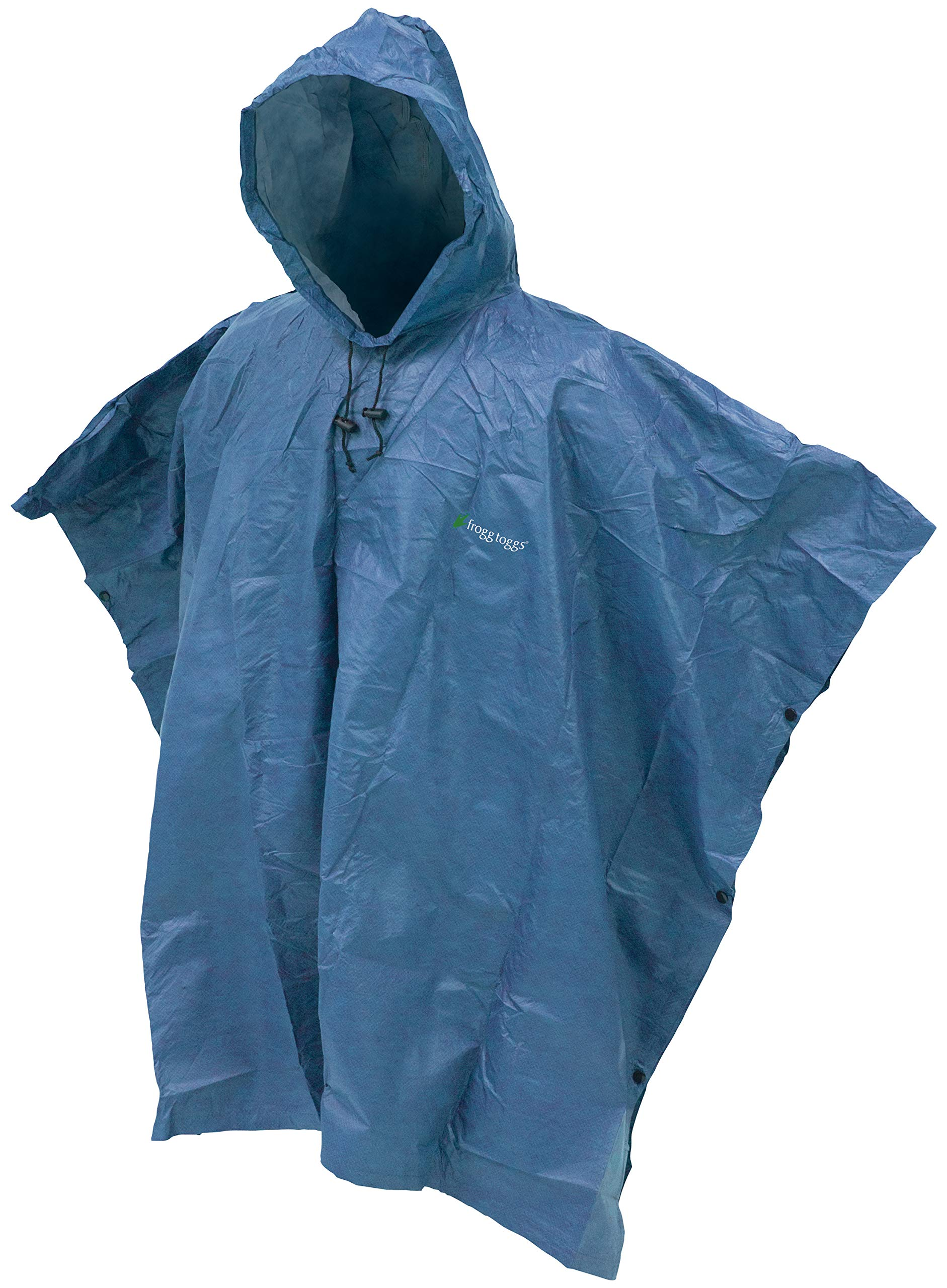 Frogg Toggs Ultra-Lite2 Waterproof Breathable Poncho, Blue, One Size by Frogg Toggs