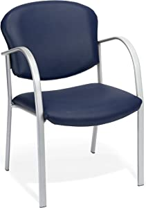 OFM Core Collection Danbelle Series Vinyl Contract Guest Chair, in Navy