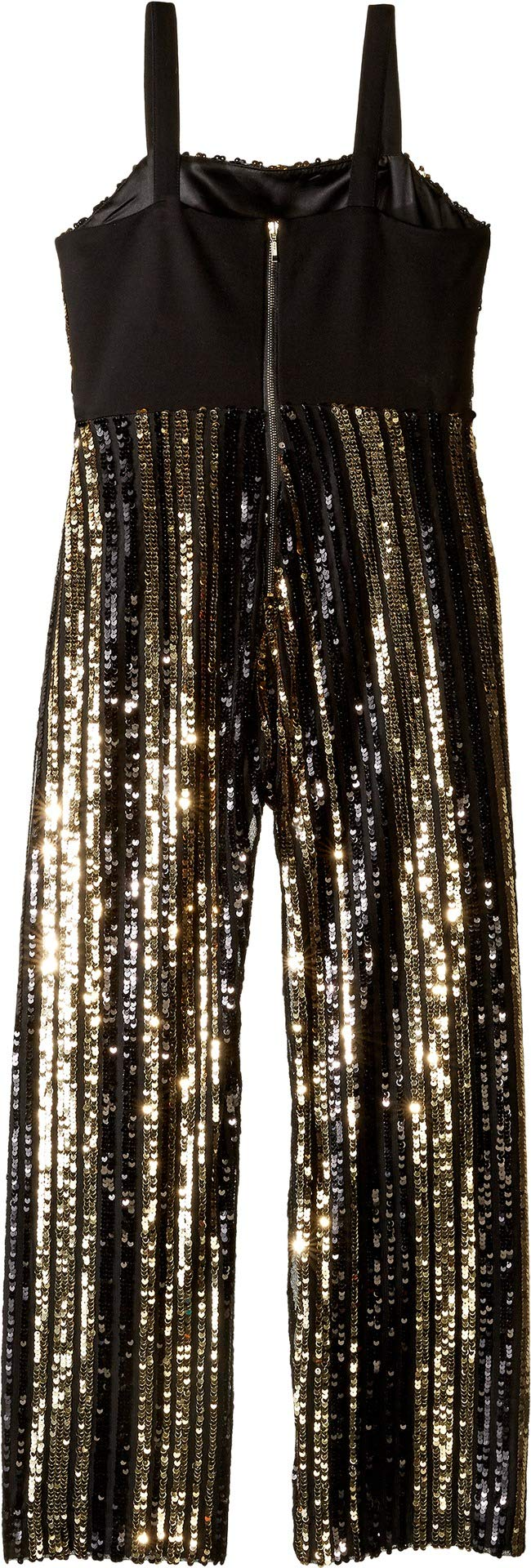 Bardot Junior Girl's Illy Sequin Jumpsuit (Big Kids) Black 16 by Bardot Junior (Image #2)