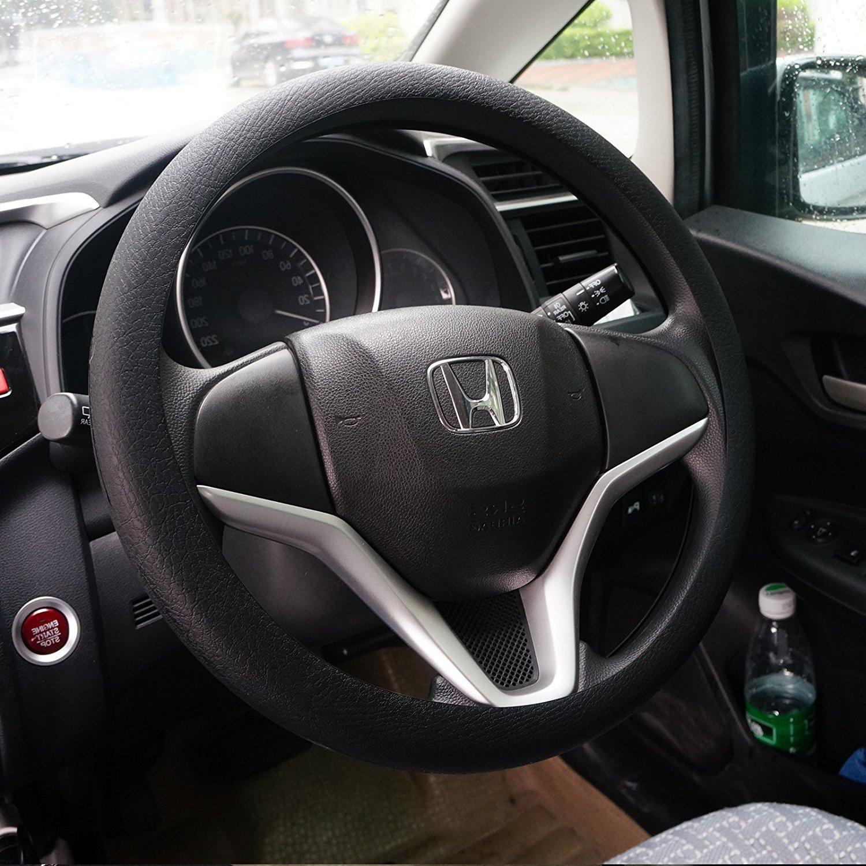 Fashion suave silicona Car Steering Wheel Cover antideslizante decoració n del coche Volante cubierta Wittyware