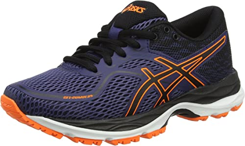 Asics Gel-Cumulus 19 GS, Zapatillas de Running Unisex Niños, Azul (Indigo Blue/Black/Rose Shocking Ora 4990), 33 EU: Amazon.es: Zapatos y complementos