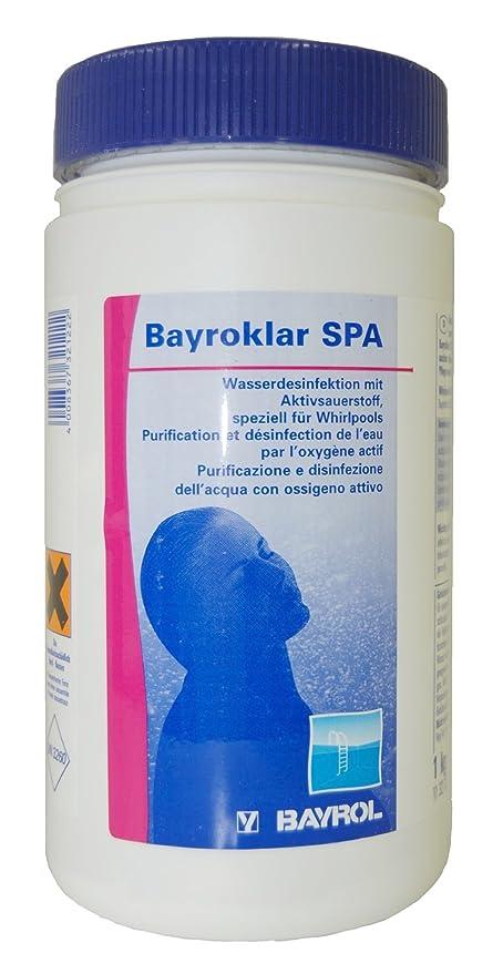 Bayrol bayro transparente Spa granulado de 1 kg: Amazon.es: Jardín