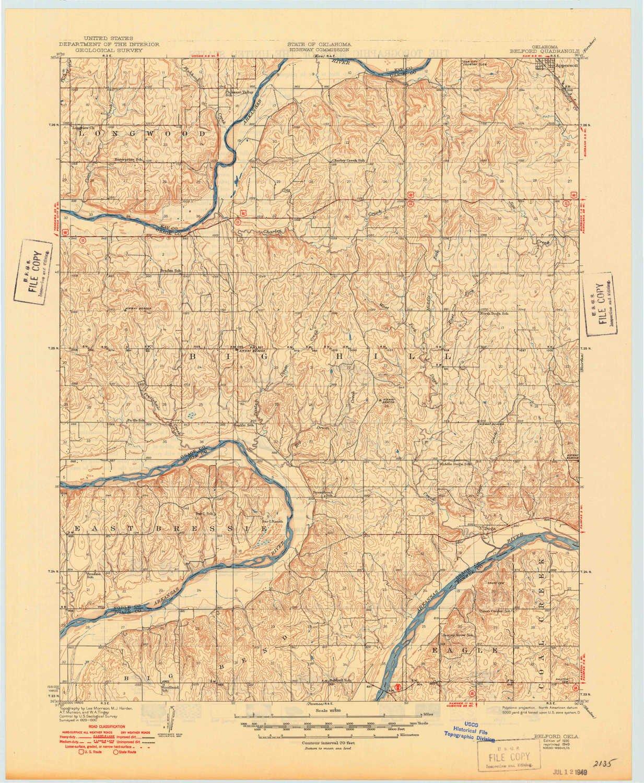 Amazon.com: YellowMaps Belford OK topo map, 1:62500 Scale ...