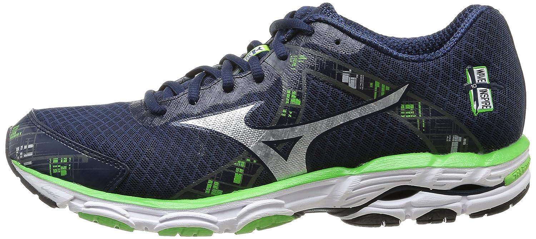 Amazon.com | MIZUNO Wave Inspire 10 Men\u0027s Running Shoes, Blue/Green, US12 |  Running