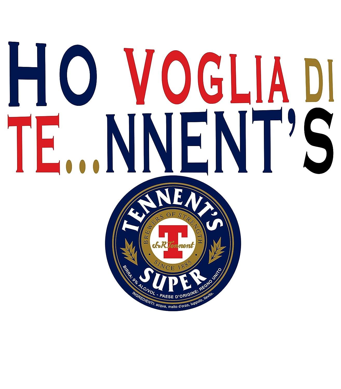 Novesei Tshirt Donna Ho Voglia di TENNENTS Stampa Digitale Diretta BY