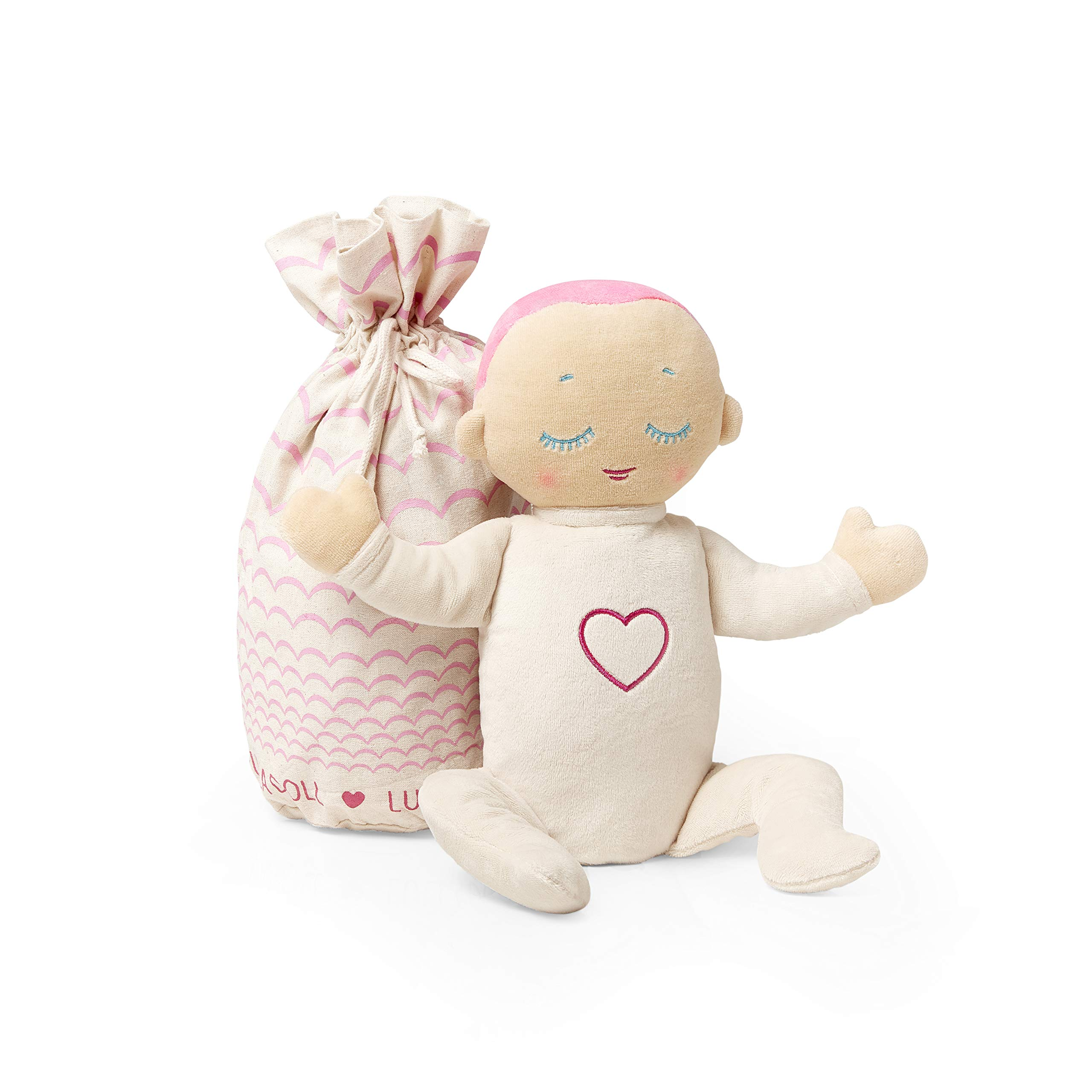 Lulla Doll Baby Sleep Companion and Comfort Soother-Lulla Coral