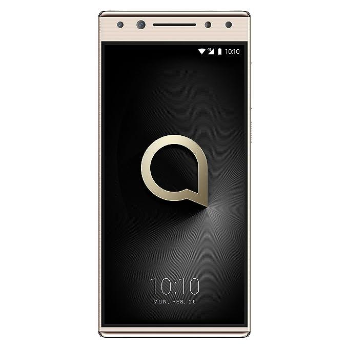"""2 opinioni per Alcatel 5 Smartphone da 32 GB, 4G, Display 5.7"""" 18:9, Oro [Italia]"""