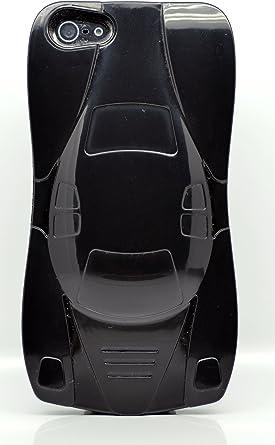 iPhone 5 caso coche diseño plástico Protector de borde Gaurd negro silicona/piel/Caso/cubierta/Shell/Protector/Mobile/para teléfono móvil/ smartphone/accesorios.: Amazon.es: Electrónica
