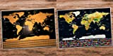 Scratch Off Map of the World Poster - Travel Map