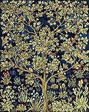 Dingyali Pintar Por Números Adultos, Lienzo - Happy Tree (40X50Cm Sin Marco)