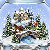 The Bradford Exchange Thomas Kinkade Jingle Bells