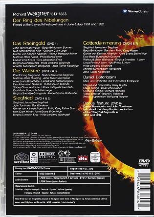Wagner Der Ring Des Nibelungen Dvd 2009 2011 Ntsc Amazon
