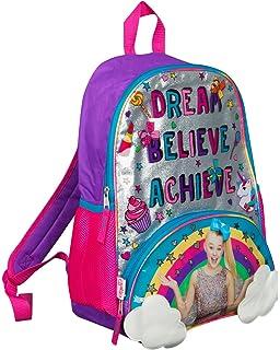 ea0fb597f5363 JoJo Siwa Bow Backpack Ruck Sack Sholder Bag Large Poket Print Back Pack  Rainbow