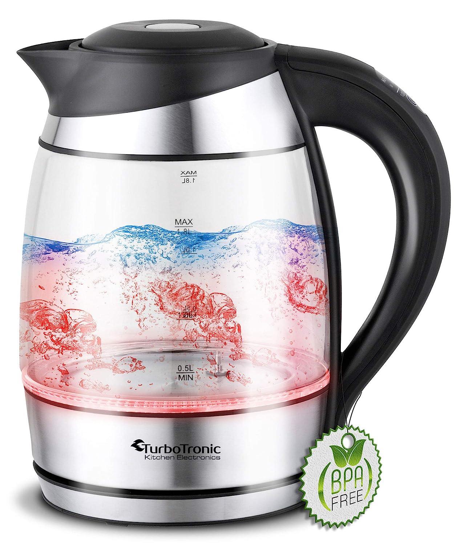 Reer 3908 Baby Wasserkocher 05 Liter 1000 Watt Silber Schwarz