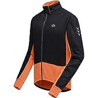 wei Hombres Alta Visibilidad Ciclismo Chaquetas Prueba de Viento Impermeable MTB Bicicleta Motocross Windcoat Invierno T/érmico Rompevientos