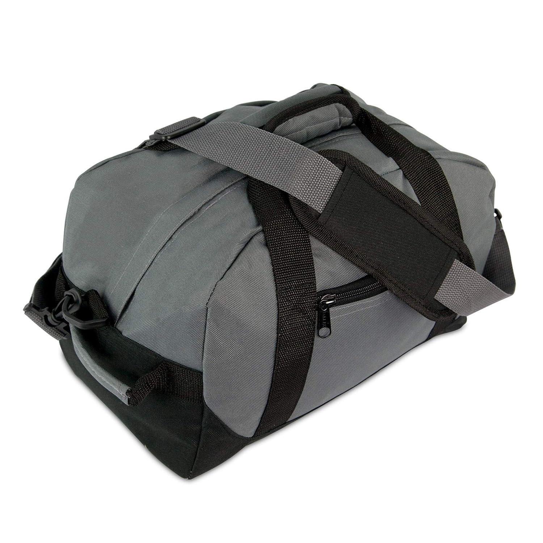 【メール便送料無料対応可】 DALIX 14インチ グレー スモールダッフルバック DALIX 2色のジム用 旅行用バッグ B00OAK32T2 B00OAK32T2 グレー グレー, 木一筋:d56efb33 --- tutor.officeporto.com