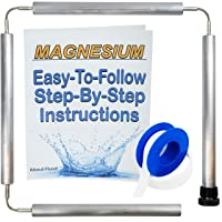 About Fluid | Magnesium Flexible Anode Rod Kit for Water Heaters | Teflon Tape |...