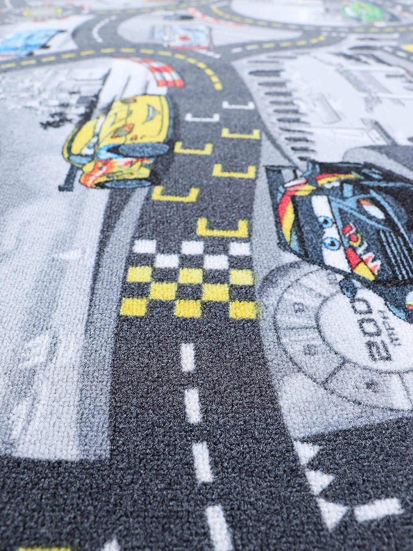 """kleiner Spielteppich Disney Pixar /""""CARS Rot/"""" Straßenteppich Kinderteppich"""