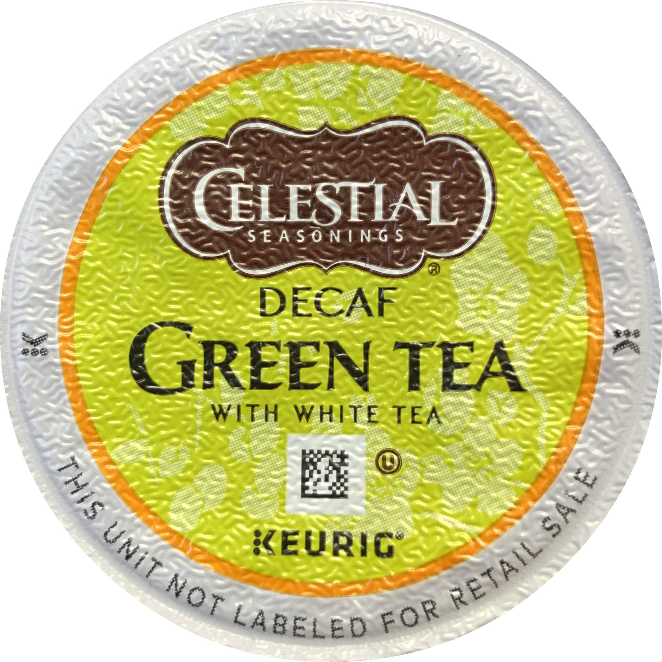 Celestial Seasonings Decaf Green Tea, K-Cup Portion Pack for Keurig K-Cup Brewers, 24-Count (Pack of 2) - Packaging May Vary