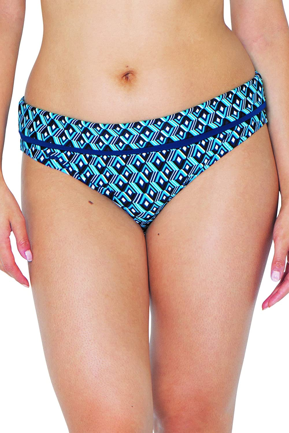 c22b920570e52 Curvy Kate Women's Wanderlust Fold Over Brief Bikini Bottoms: Amazon.co.uk:  Clothing