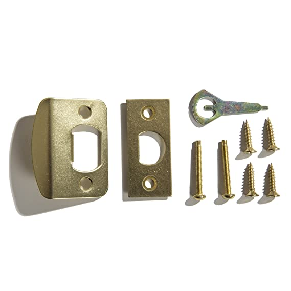 Ultra Hardware 43997 Chestnut Hill Round Ball Knob Lockset Passage, Polished Brass - Door Lock Replacement Parts - Amazon.com