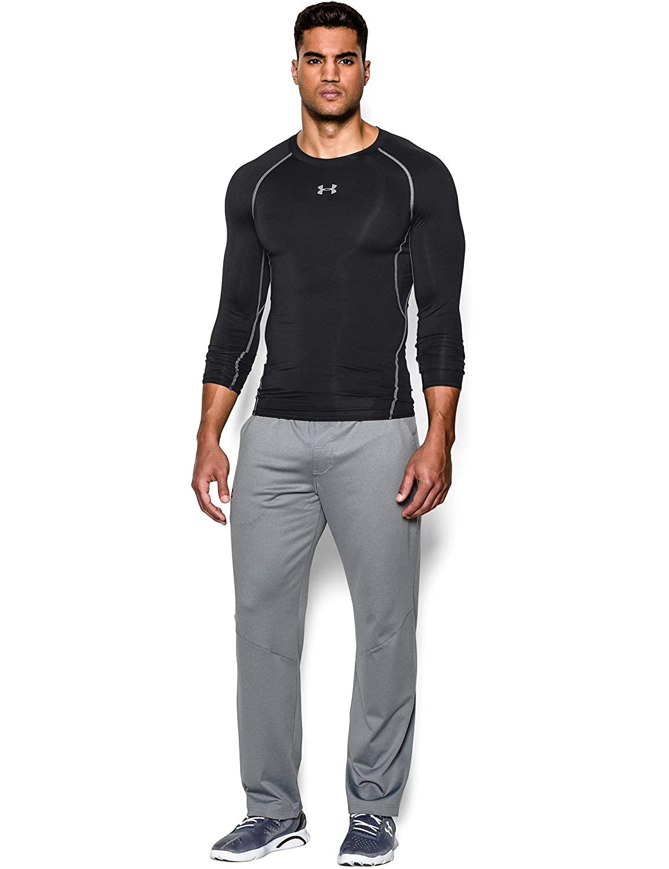 Amazon.com: Under Armour Men's HeatGear Armour Long Sleeve Compression  Shirt: Under Armour: Sports & Outdoors