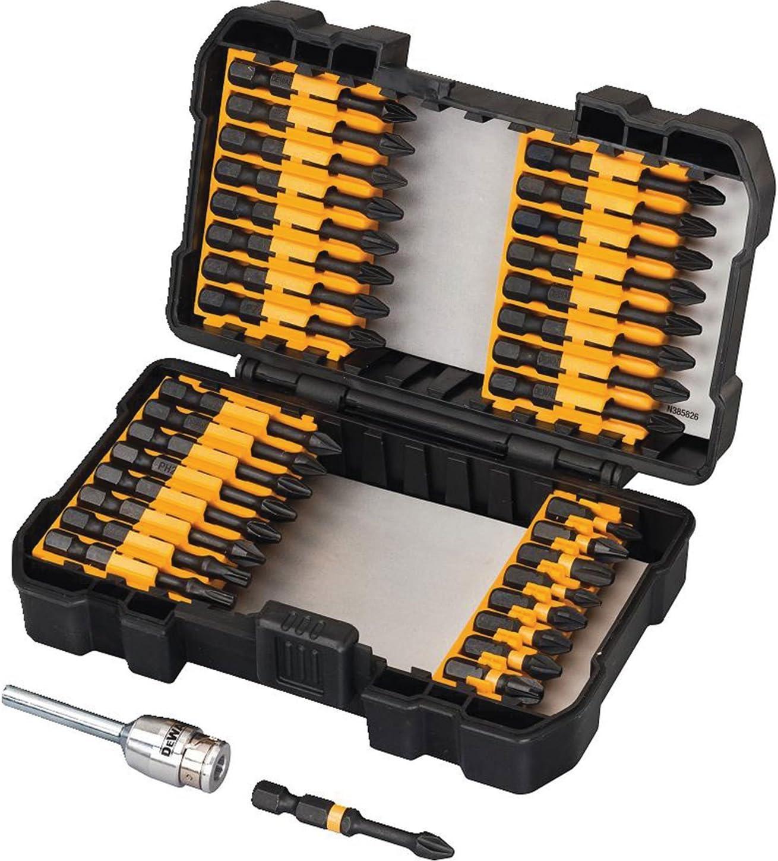 DEWALT DT70545T-QZ - Juego de 34 puntas para Atornillar IMPACT TORSION con adaptador magnético