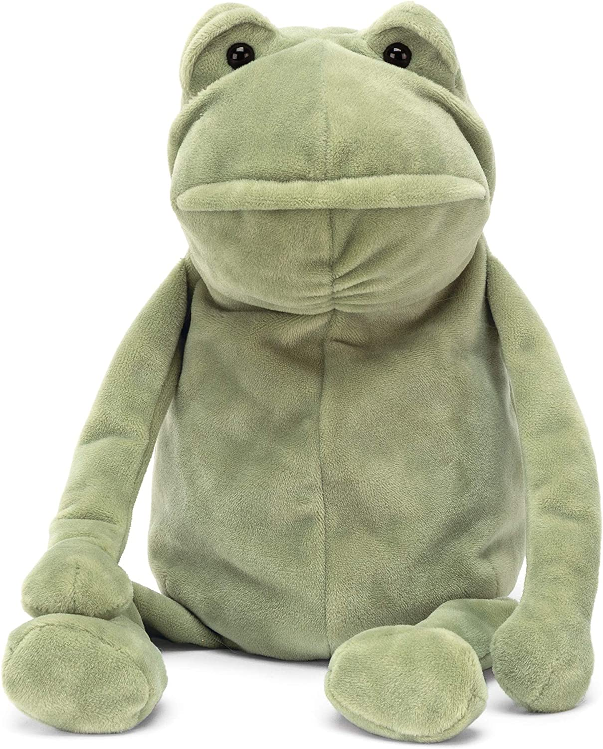 Jellycat Squiggle Frog Stuffed Animal 9 inches Small