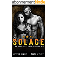 FINDING SOLACE (The Kings Of Retribution MC Book 3) (English Edition)